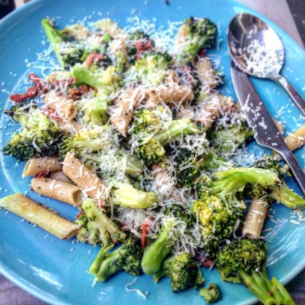 truffelpasta met broccoli