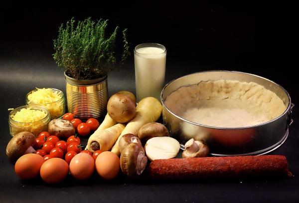 pastinaak quiche ingredienten